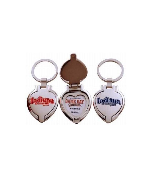 IN Keychain Metal Heart Locket