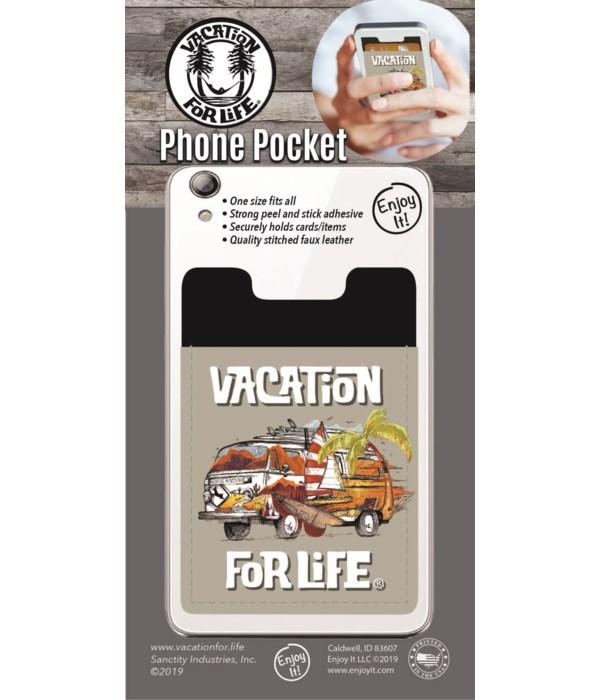 Bus Phone Pocket