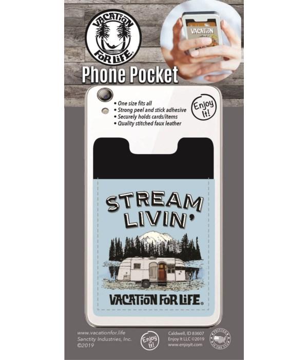 Stream Livin' Phone Pocket