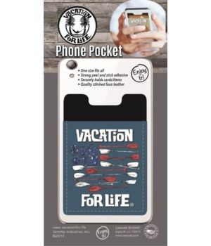 Paddle Flag Phone Pocket