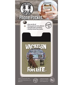 Truck, Dog, Duck Phone Pocket