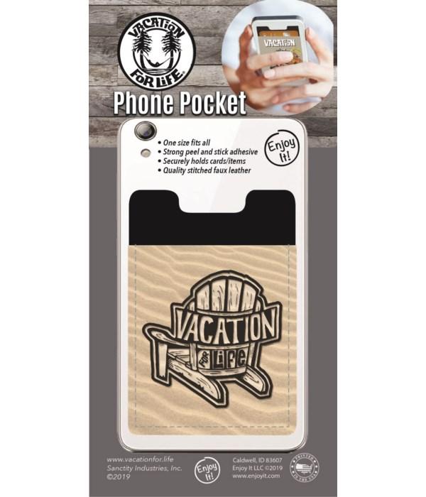 Adirondack Chair Phone Pocket