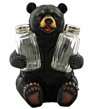 Bear Salt & Pepper Set - 7""