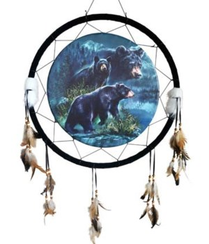 "Dreamcatcher 24"" 3 Bears"