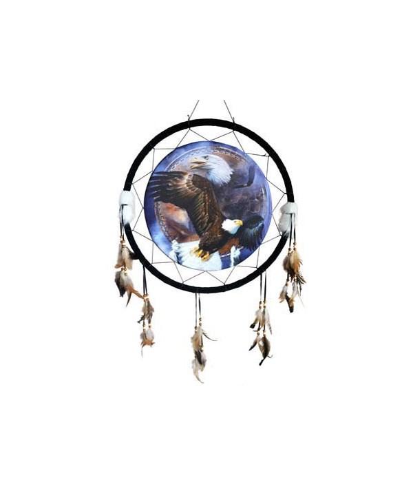 """Dreamcatcher 24"""" Eagles flying/ d/c"""