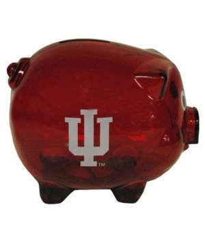 IN-U Bank Pig Clear Plastic