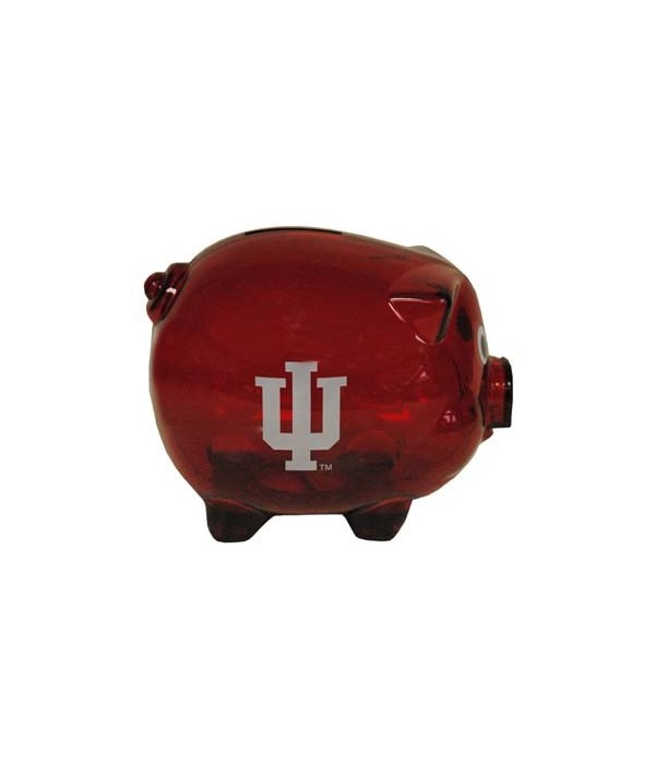 IN-U Bank Pig Clear Plastic