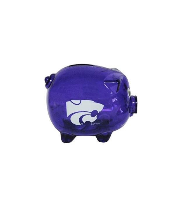 KS-S Bank Pig Clear Plastic