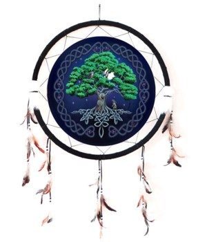 "Dreamcatcher 24"" Tree of life"