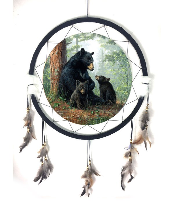 """Dreamcatcher 24"""" Bear/ 2 Cubs"""