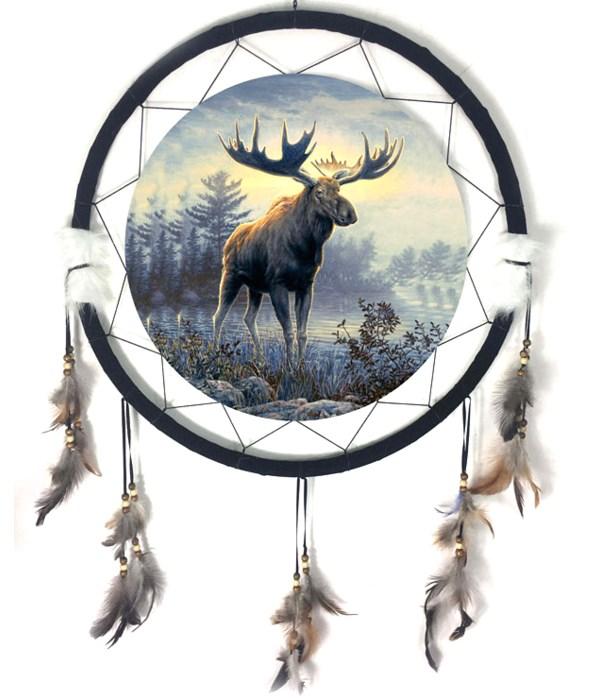 "Dreamcatcher 24"" Moose"