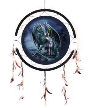 "Dreamcatcher 24"" Unicorn & Dragon"