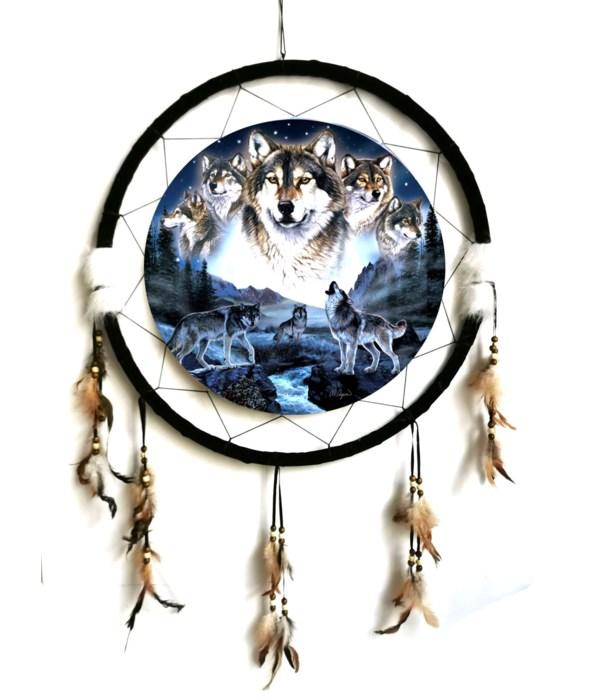 "Dreamcatcher 24"" Wolves"