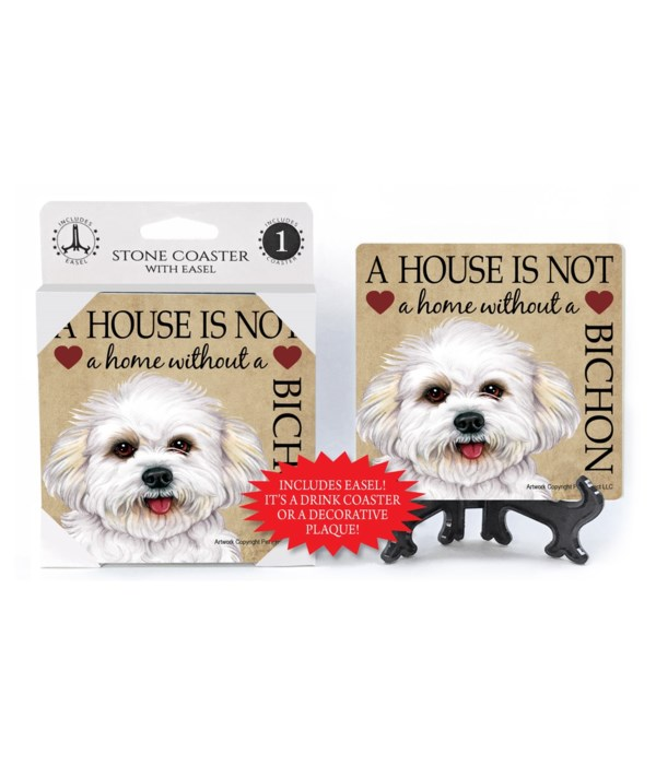 A house is not a home without a Bichon n