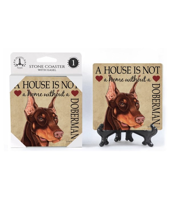 A house is not a home without a Doberman