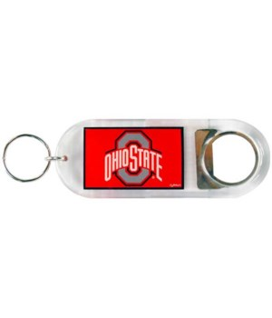 OH-S Keychain Lucite Bottle Opener