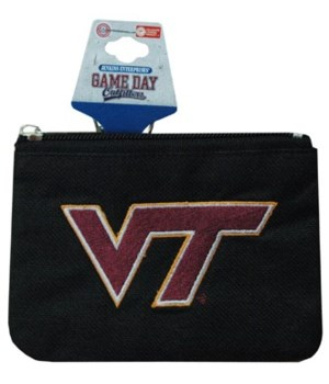 VA-T Keychain Coin Purse Divided T