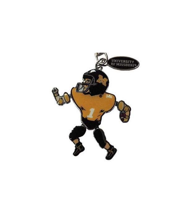 U-MO Metal Player Movable Keychain