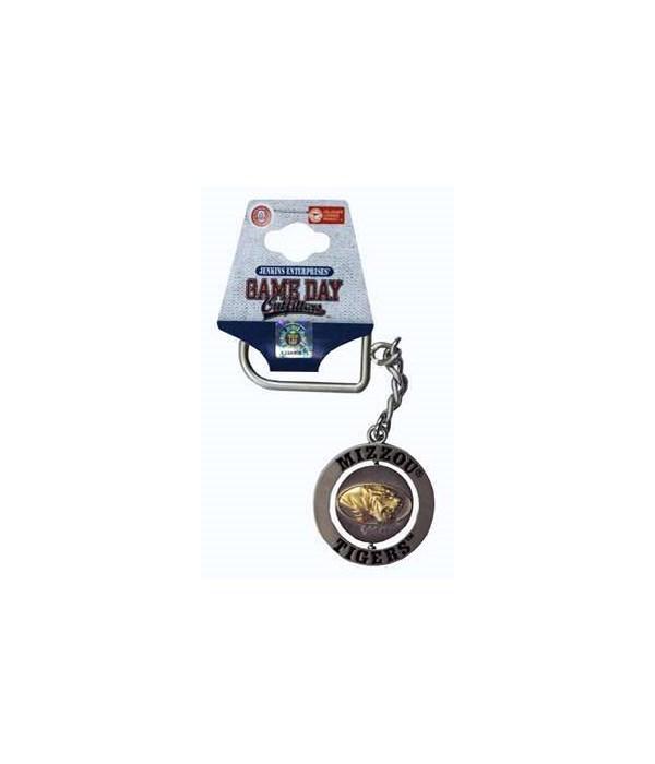 U-MO Spinner Nickel Keychain