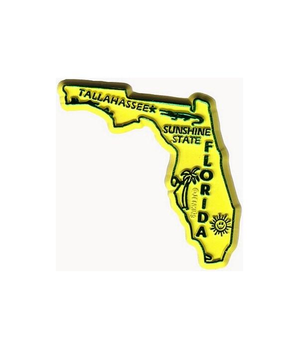 FL Bagged Map Magnet