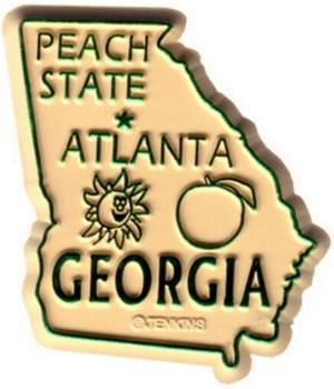 GA Bagged Map Magnet