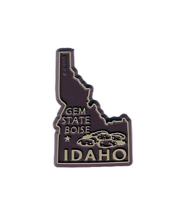 ID Bagged Map Magnet