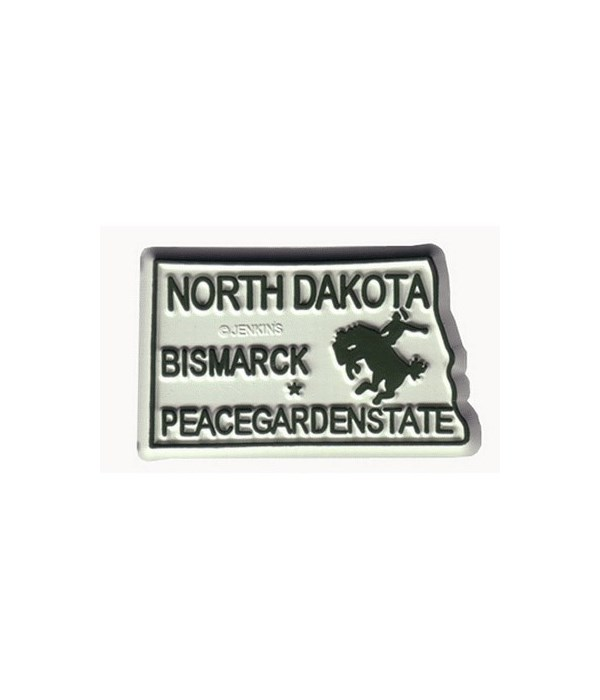 ND Bagged Map Magnet