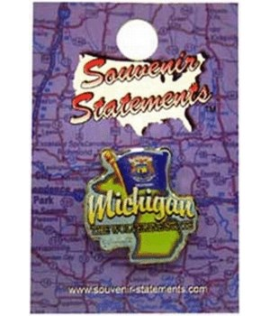 Michigan Lapel Pin Elements