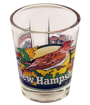 NH Shotglass 3 View