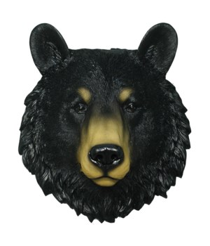 Black Bear head 8.5""