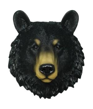 "Black Bear Head 8.5"""