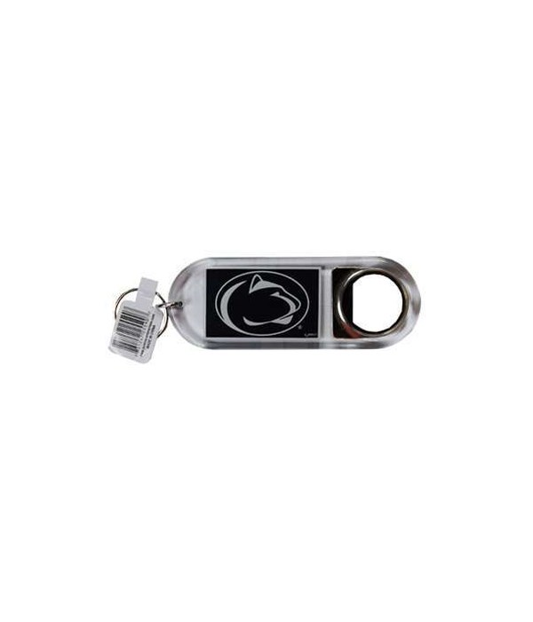 PA-S Lucite Bottle Opener Keychain 12PC