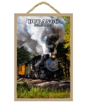 Durango, Colorado - Steam Locomotive thr
