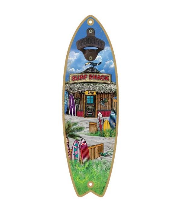 Surf Shack - Surfboard bottle opener - M