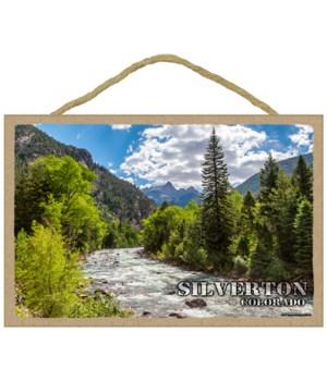 Silverton, Colorado -River running throu