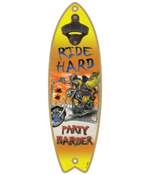 Ride hard - Surfboard bottle opener - Mi