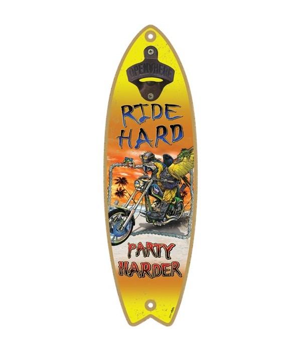Ride hard - Surfboard bottle opener - Mi