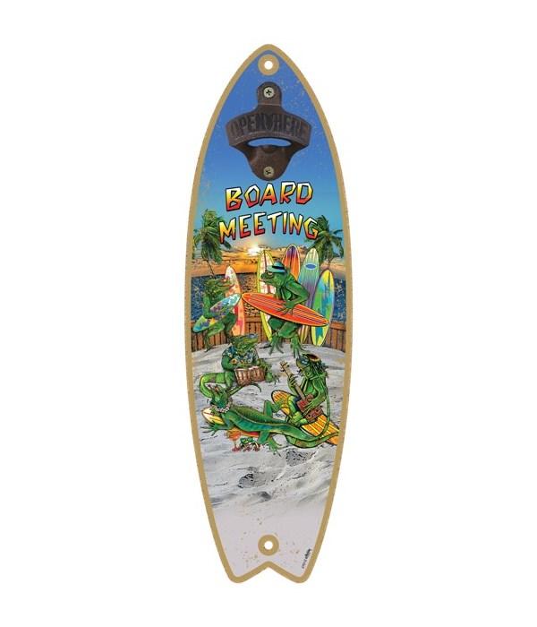 Board Meeting - Surfboard bottle opener