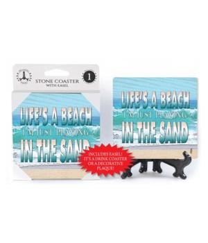 Life's a beach - coaster - Michael Messi