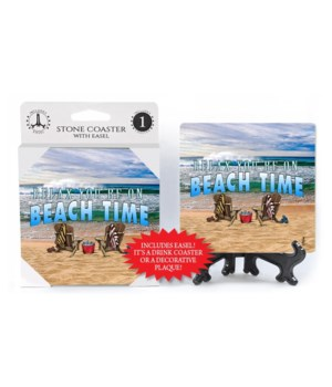 Beach Time - coaster - Michael Messina