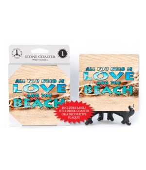 Love and the beach - coaster - Michael M