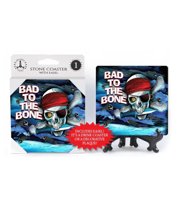 Bad to the bone - coaster - Michael Mess