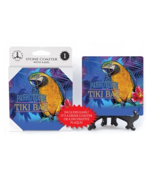 Parrotdise Tiki Bar - coaster - Michael