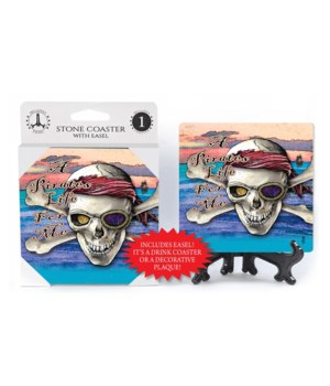 A Pirates Life for me - coaster - Michae