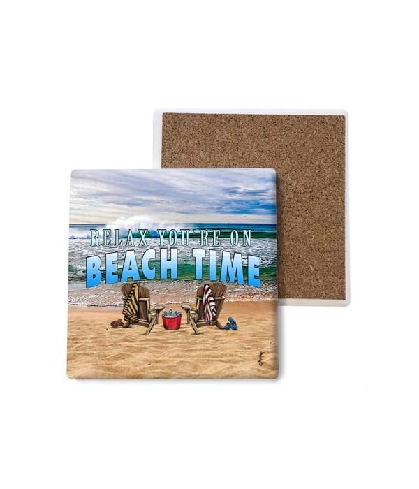 Beach Time - coaster - Michael Messina