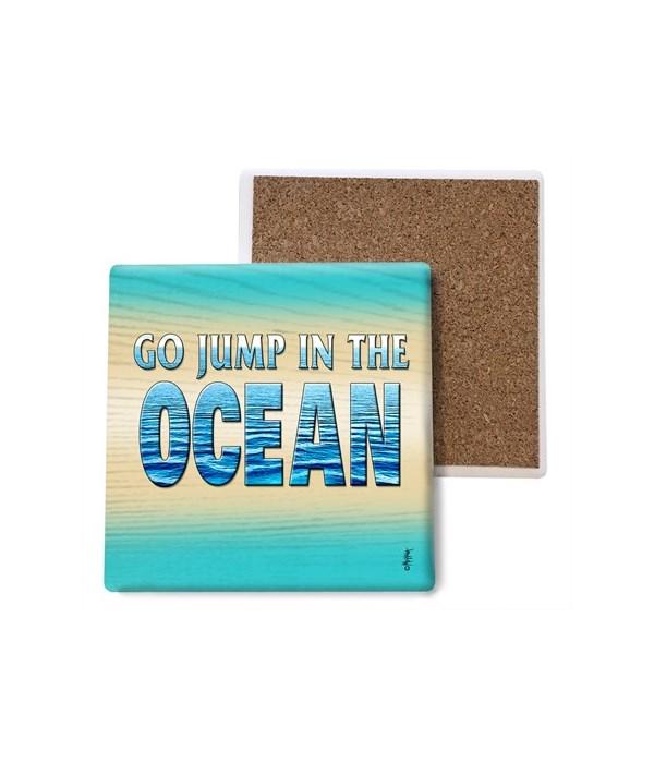 jump in the ocean - coaster - Michael Me