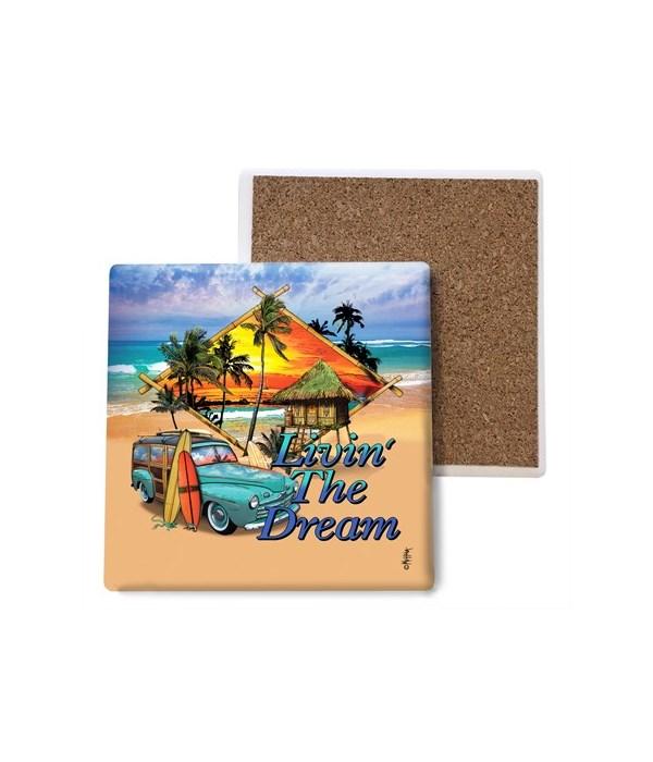 Living the Dream - coaster - Michael Mes