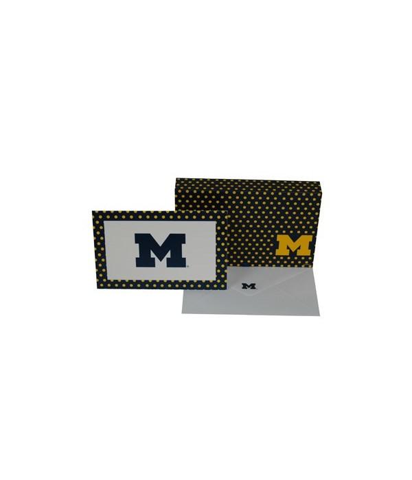 U of M Stationery Note Card Set - 8 Sets