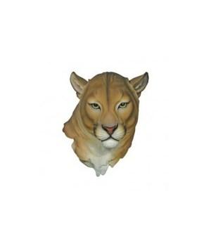 "16.5"" Mountain Lion Head Wall Hanger 1PC"