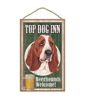 Top Dog Beerhound 10x16 Basset Hound